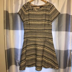 NWT Banana Republic Dress Tweed Sz 16
